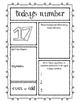 Today's Number Activity Sheets