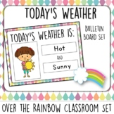 Today's Weather. Bulletin Board Set.  Weather Kids. Over t