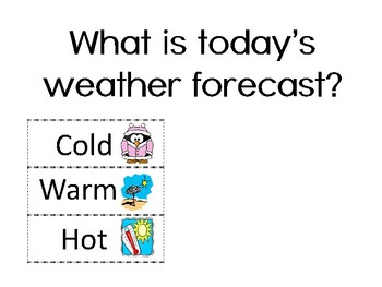 Today's Weather (Mild Climate Edition)