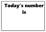 Today's number is