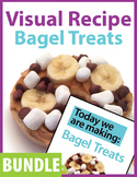 BUNDLE: Today we are making: Bagel Treats, A Visual Recipe