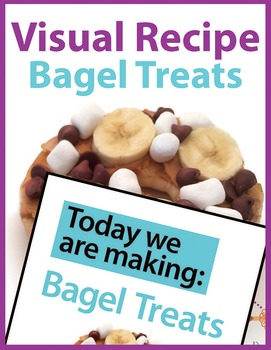 Today we are making: Bagel Treats, A Visual Recipe