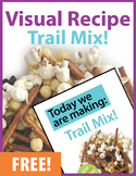 Today we are making: Trail Mix! A Visual Recipe