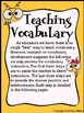 Vocabulary: Today's Buzzword ~ A Complete Unit For The Entire School Year