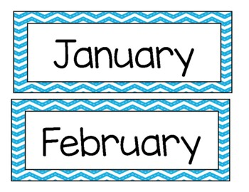 Today's Date- Calendar Labels