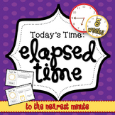 Elapsed Time Mini Math Warm Up Set