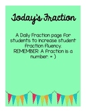 Today's Fraction