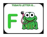 Today's Letter Is...