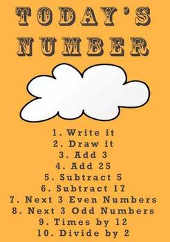Todays Number