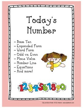 Today's Number / Number of the Day