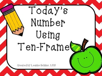 Today's Number Using Ten Frame