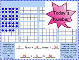 Today's Number with Tens and Ones