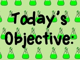 Today's Objective poster