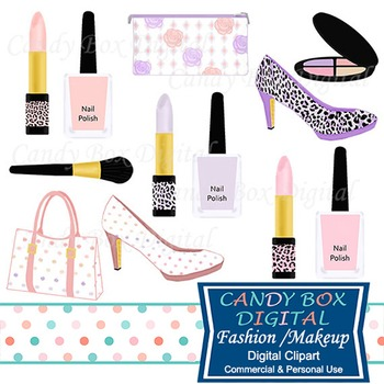 Makeup and Fashion Clip Art