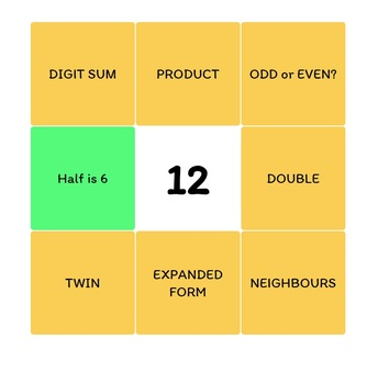 TODAYS NUMBER APP (Basic) - For Interactive Whiteboards - With Worksheets