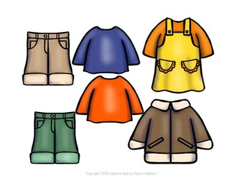 BINDER TASK Today's weather is...I will wear...