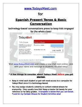 TodaysMeet.com in the Spanish Classroom