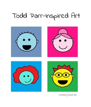 Todd Parr-Inspired Art Lesson