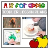 Toddler Activities and Lesson Plans: A is for Apple | Letter A