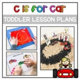 Toddler Activities and Lesson Plans: C is for Car | Letter C