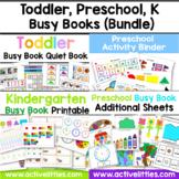 Toddler Book, Preschool Book, Kindergarten Book (BUNDLE)