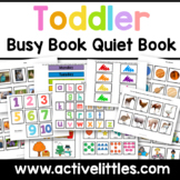 Toddler Busy Book Activity Binder Learning Folder
