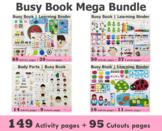 Toddler Busy Book Mega Bundle(149 Pages), Learning Folder,