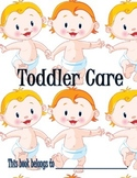Toddler Care Booklet for Kids