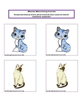 Toddler Cats Unit: Cute Kitties (Perfect for Early Preschoolers Too)