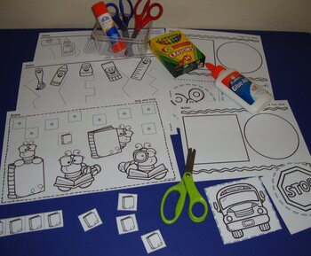 Toddler Centers Back To School Bundle School Activities Toddler Curriculum