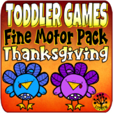 Toddler Centers Fine Motor Thanksgiving Activities Turkey Centers