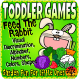 Toddler Centers Garden Activities Feed The Rabbit Alphabet