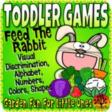 Toddler Centers Garden Activities Feed The Rabbit Toddler Curriculum Activities