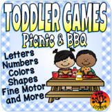 Toddler Centers Picnic Activities BBQ Centers Alphabet Num