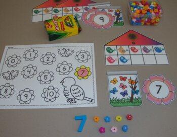 Toddler Centers Spring Activities Birds Butterflies Toddler Curriculum