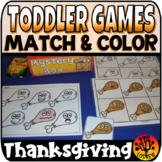 Toddler Centers Thanksgiving Activities Matching Autumn Centers Preschool