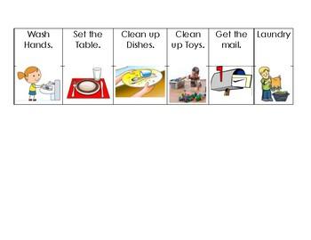 Toddler Chore Charts