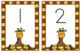 Toddler Circle Time Giraffe Theme Cards