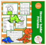 Toddler Dinosaur Printable