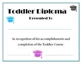 Toddler Diploma