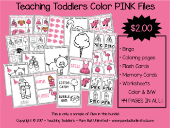 Toddler Files - Pink
