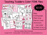 Toddler Files - Pink