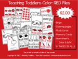Toddler Files - Red