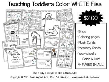 Toddler Files - White