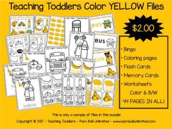 Toddler Files - Yellow