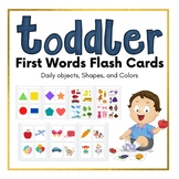 Toddler First Words Flash Card