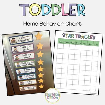 Toddler Home Behavior Chart