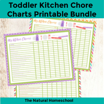 image regarding Toddler Printable identify Infant Kitchen area Chore Charts Printable Fixed