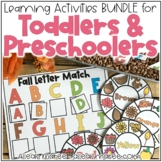 Toddler & Preschool Learning Activities, Centers, & Sensor