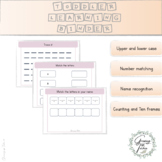 Pink|Toddler Learning Binder || Busy Binder | Counting | M